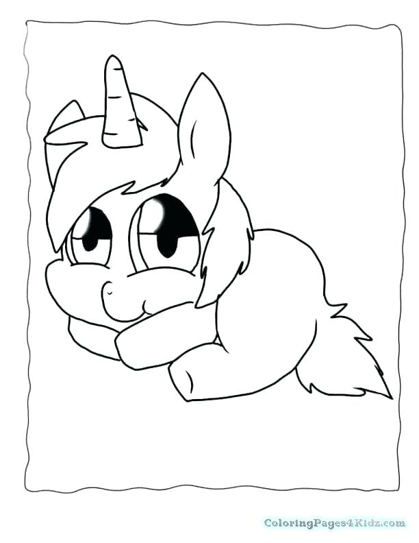 612x792 Cute Unicorn Coloring Pages To Print As Well As Unicorn Coloring