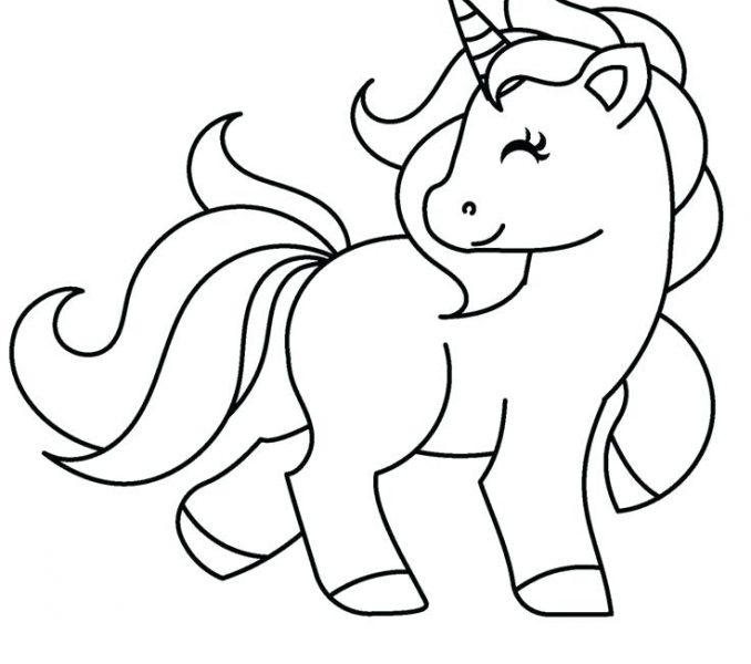 678x600 Unicorn Coloring Sheets Coloring Page
