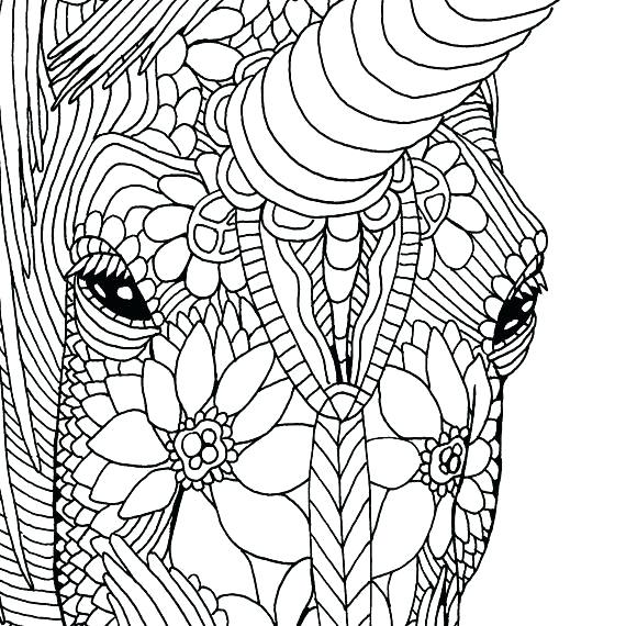 570x570 Dltk Unicorn Coloring Pages And Unicorn Online Coloring Pages