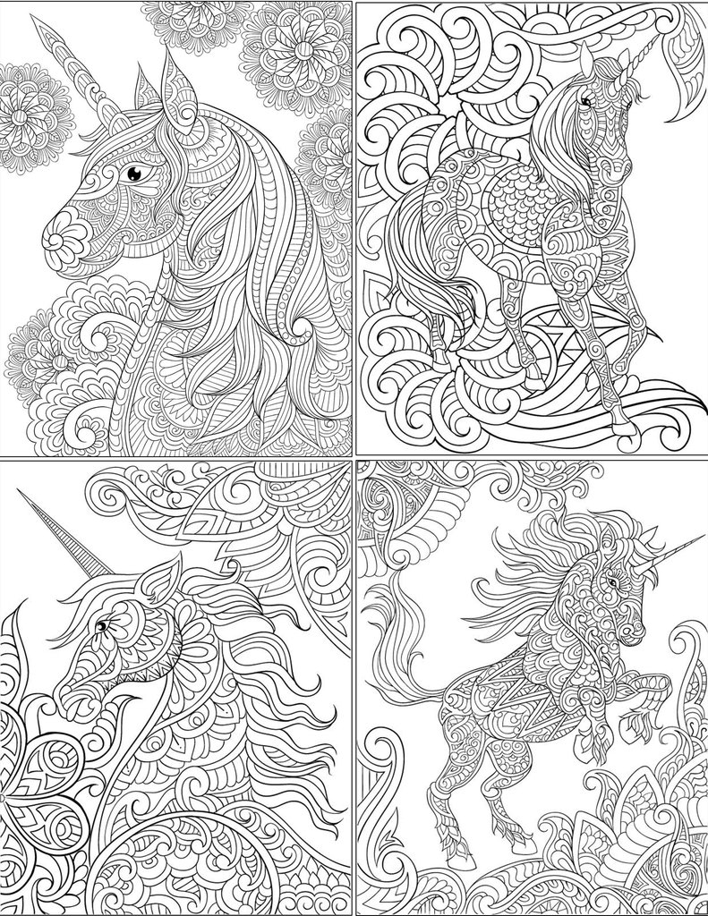 791x1024 Free Unicorn Coloring Pages Digital Download Abundant Life Colors