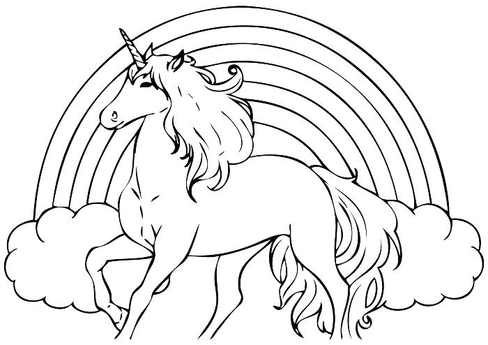 700x494 Unicorn Color Pages Unicorn Coloring Pages For Adults Unicorn