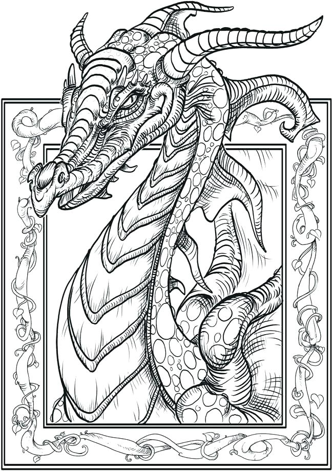 650x919 Unicorn Coloring Pages For Adults Fantasy Coloring Pages Pro