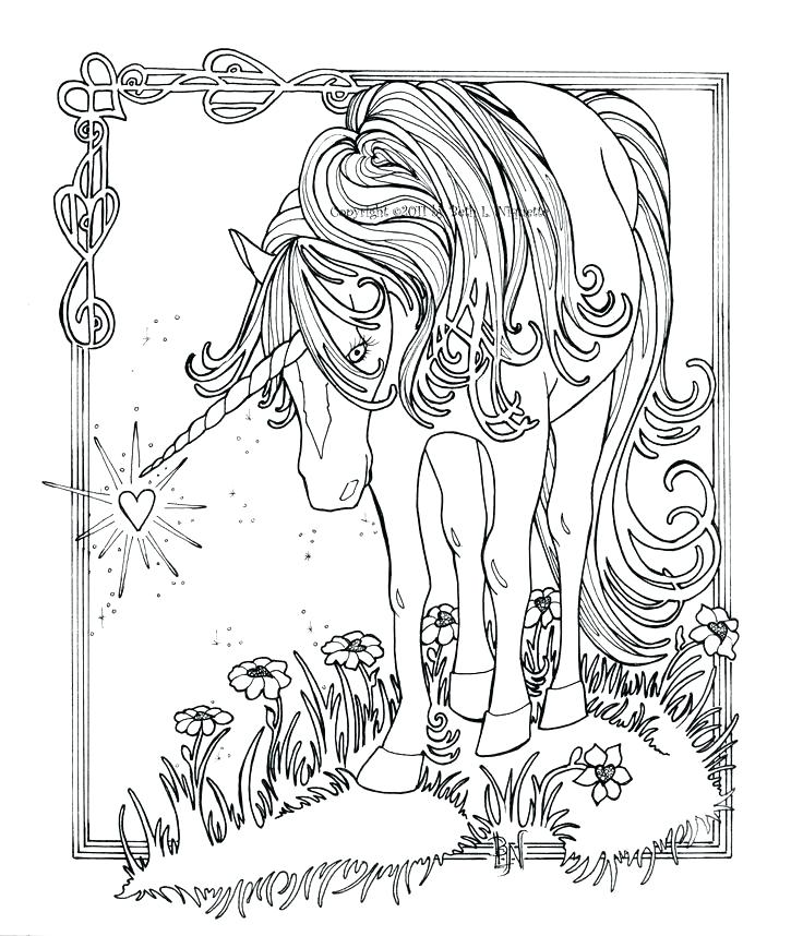 736x858 Unicorns Coloring Pages Unicorn Coloring Pages Also Unicorns