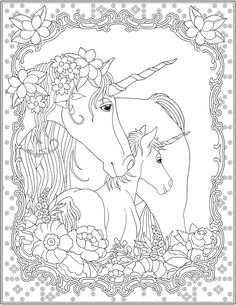 236x305 Welcome To Dover Publications Creative Haven Unicorns Coloring