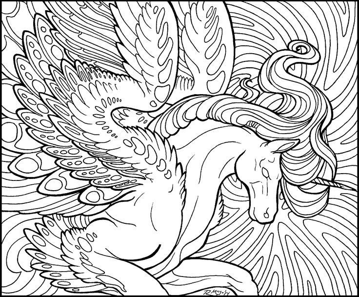 736x609 Adult Unicorn Coloring Pages Unicorn Coloring Pages For Adults New