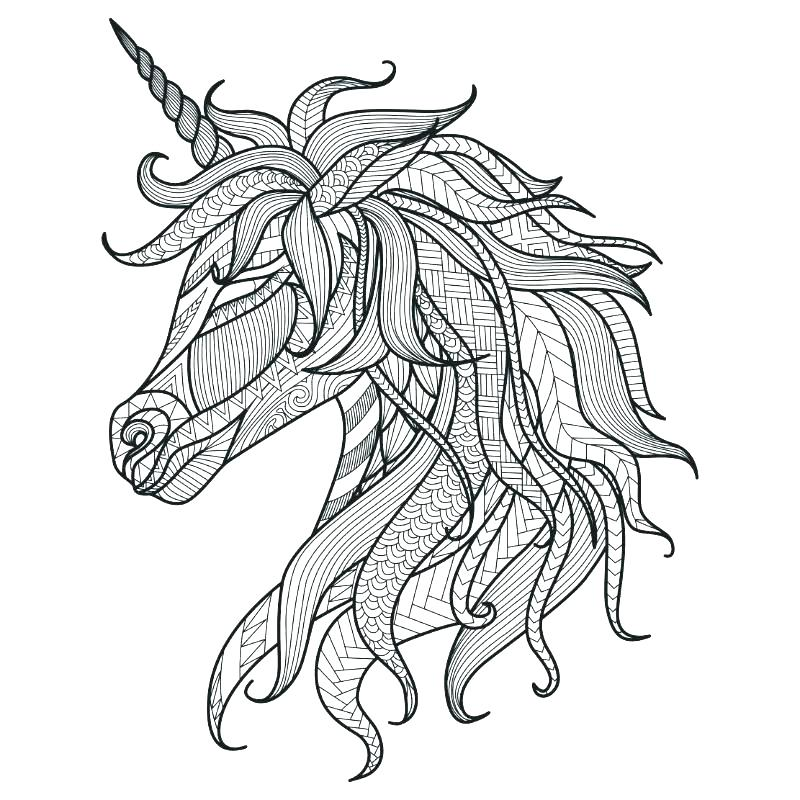 800x800 Printable Unicorn Coloring Pages Unicorn Coloring Sheets