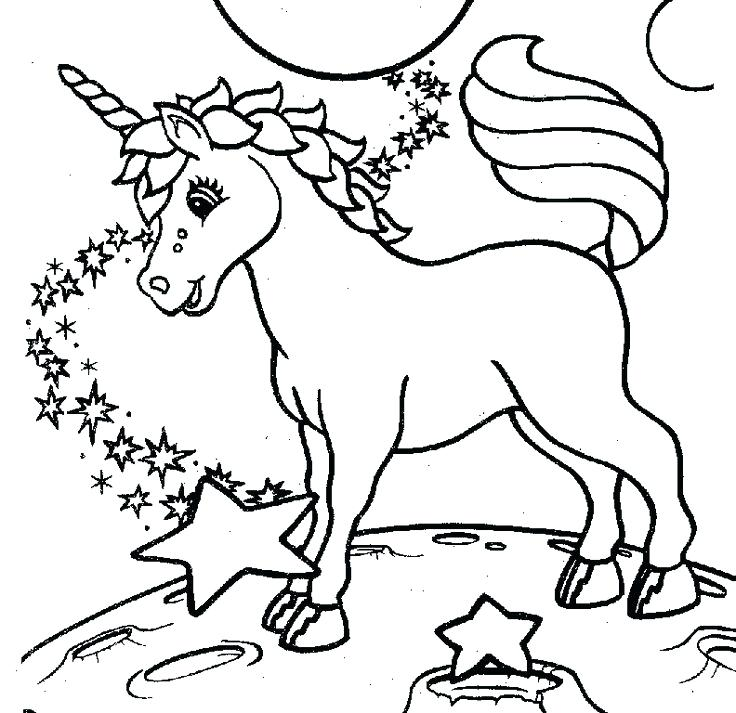 photograph relating to Unicorn Printable Coloring Pages named Unicorn Coloring Internet pages For Youngsters at  Free of charge