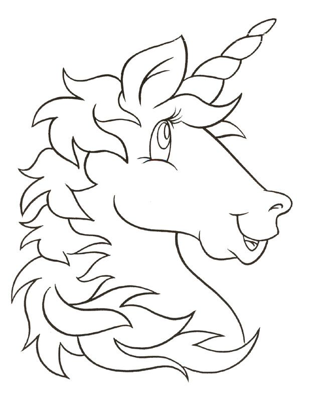 632x800 Unicorn Coloring Pages To Print Free Printable Unicorn Coloring