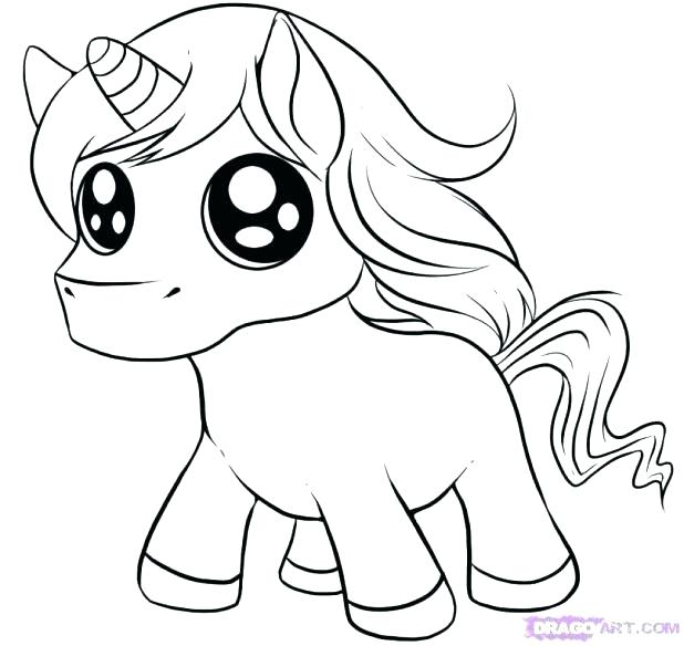 Unicorn Coloring Pages For Kids at GetDrawings.com | Free for ...