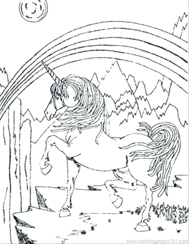 650x836 Real Unicorn Coloring Pages As Well As Coloring Pages Unicorn