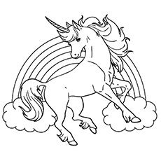 230x230 Top Free Printable Unicorn Coloring Pages Online Rainbow