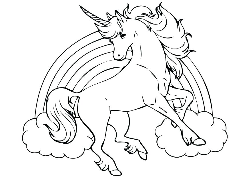 878x620 Unicorn Coloring Pages Online Free Kids Coloring Free Unicorn