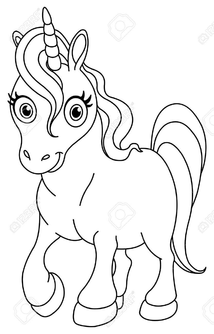 834x1300 Unicorn Coloring Pages Online Also Acpra