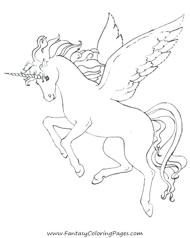 615x769 Unicorn Coloring Pages Online Unicorn Coloring Pages Online Image