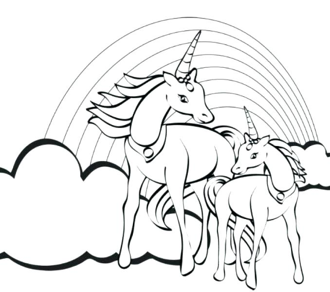 678x600 Unicorn Coloring Pages Online Unicorn Coloring Pages Unicorn