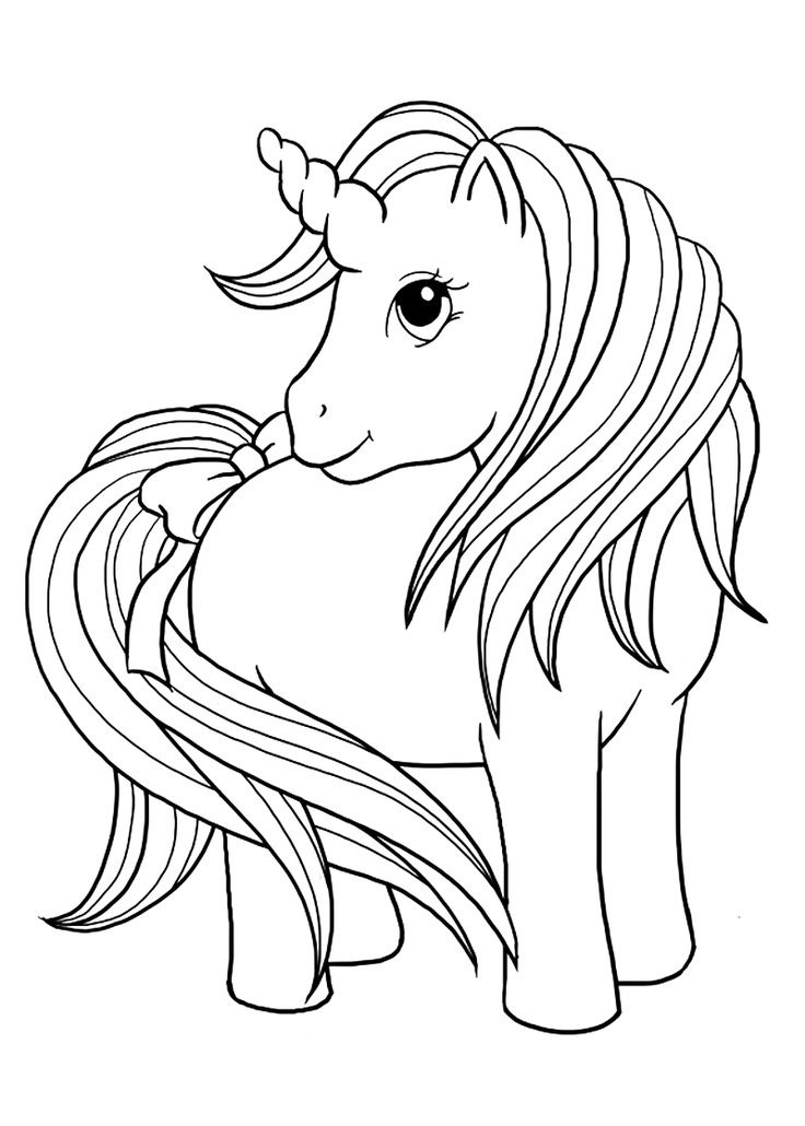 736x1030 Unicorn Color Sheet Top Free Printable Unicorn Coloring Pages
