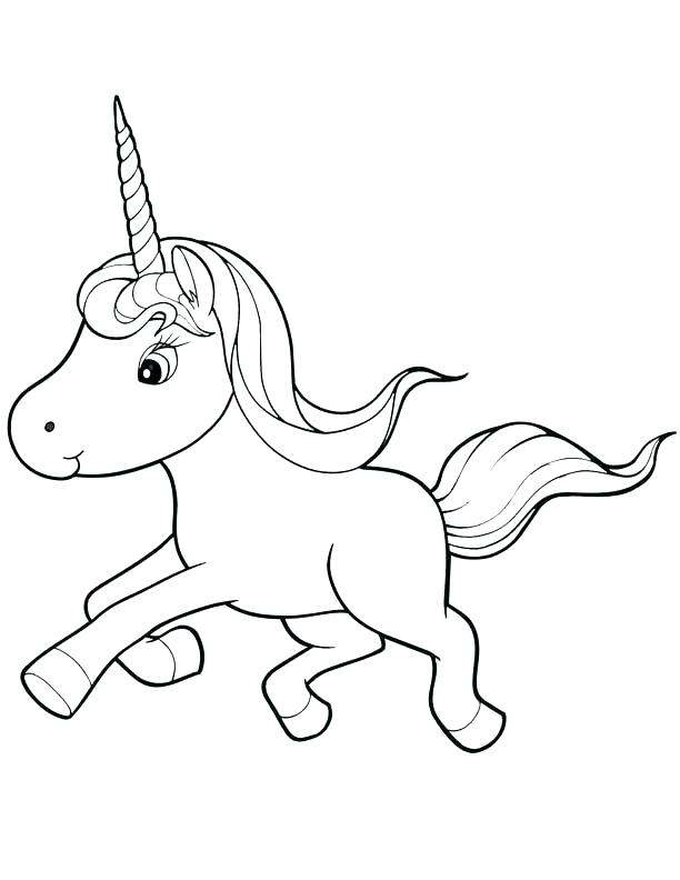 612x792 Free Unicorn Coloring Pages Unicorn Coloring Pages Printable Free