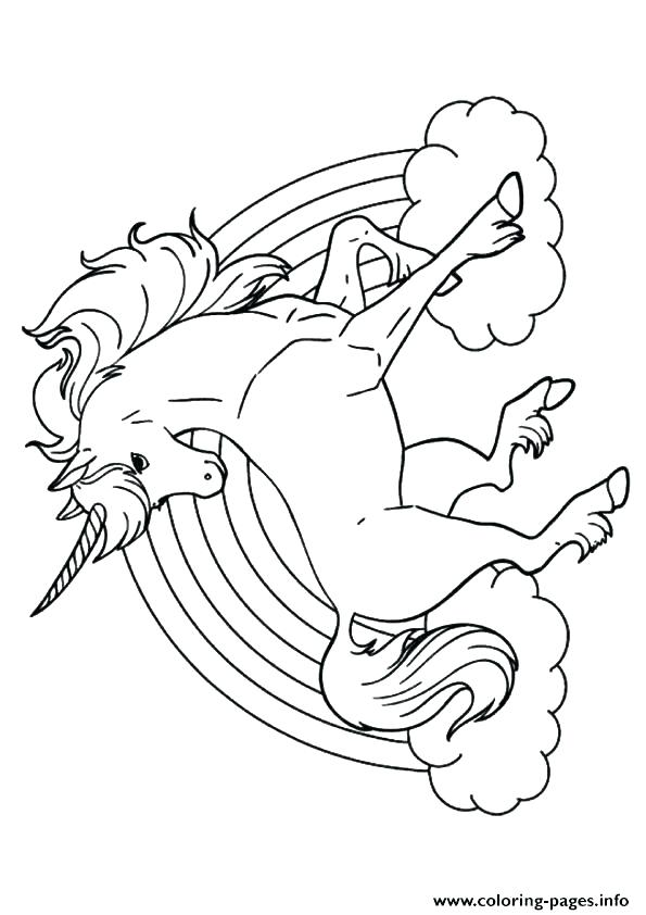 595x842 Inspiring Unicorns Coloring Pages Unicorn Color Pages Rainbow