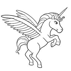 230x230 Top Free Printable Unicorn Coloring Pages Online Unicorns
