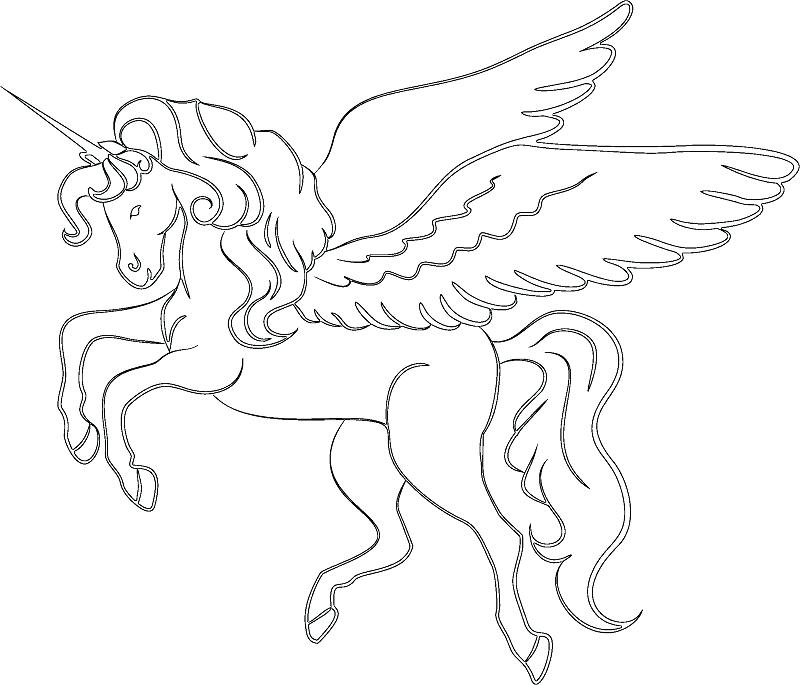 800x685 Unicorn Coloring Pages Unicorn Coloring Page Unicorn Coloring