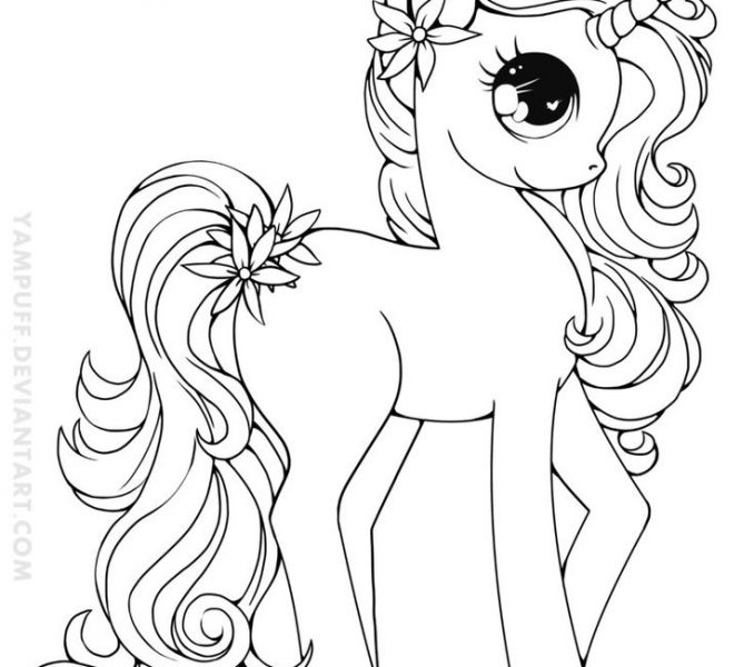 678x600 Coloring Page Unicorn Coloring Pages