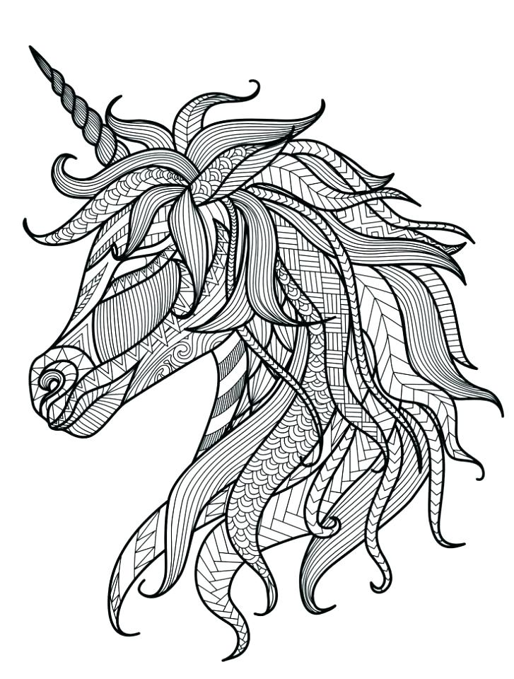 727x960 Coloring Pages Online Free Coloring Pages Unicorn Free Unicorn