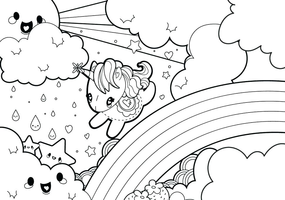 970x679 Cute Unicorn Coloring Pages Unicorn Coloring Pages Online Emoji