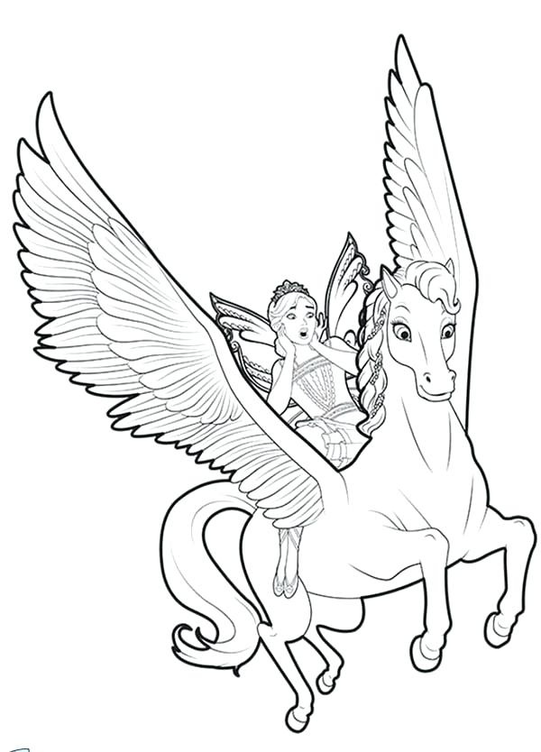600x834 Flying Unicorn Coloring Pages Unique Flying Unicorn Coloring Pages