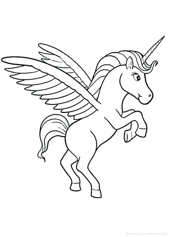 567x794 Printable Unicorn Coloring Pages Printable Unicorn Rainbow