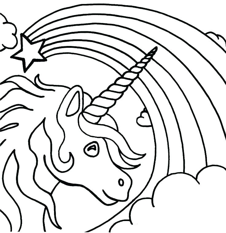736x760 Unicorn Coloring Pages Printable Printable Unicorn Coloring Pages