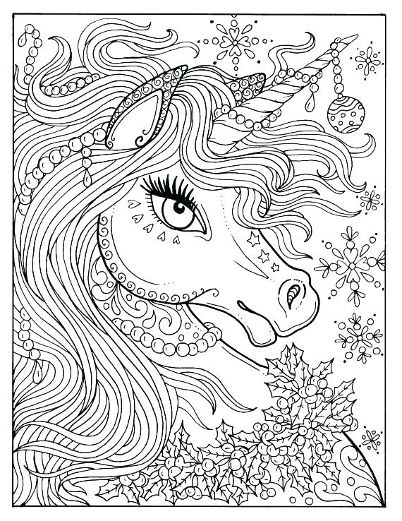570x738 Free Unicorn Coloring Pages Pictures Of Unicorns To Color Unicorn