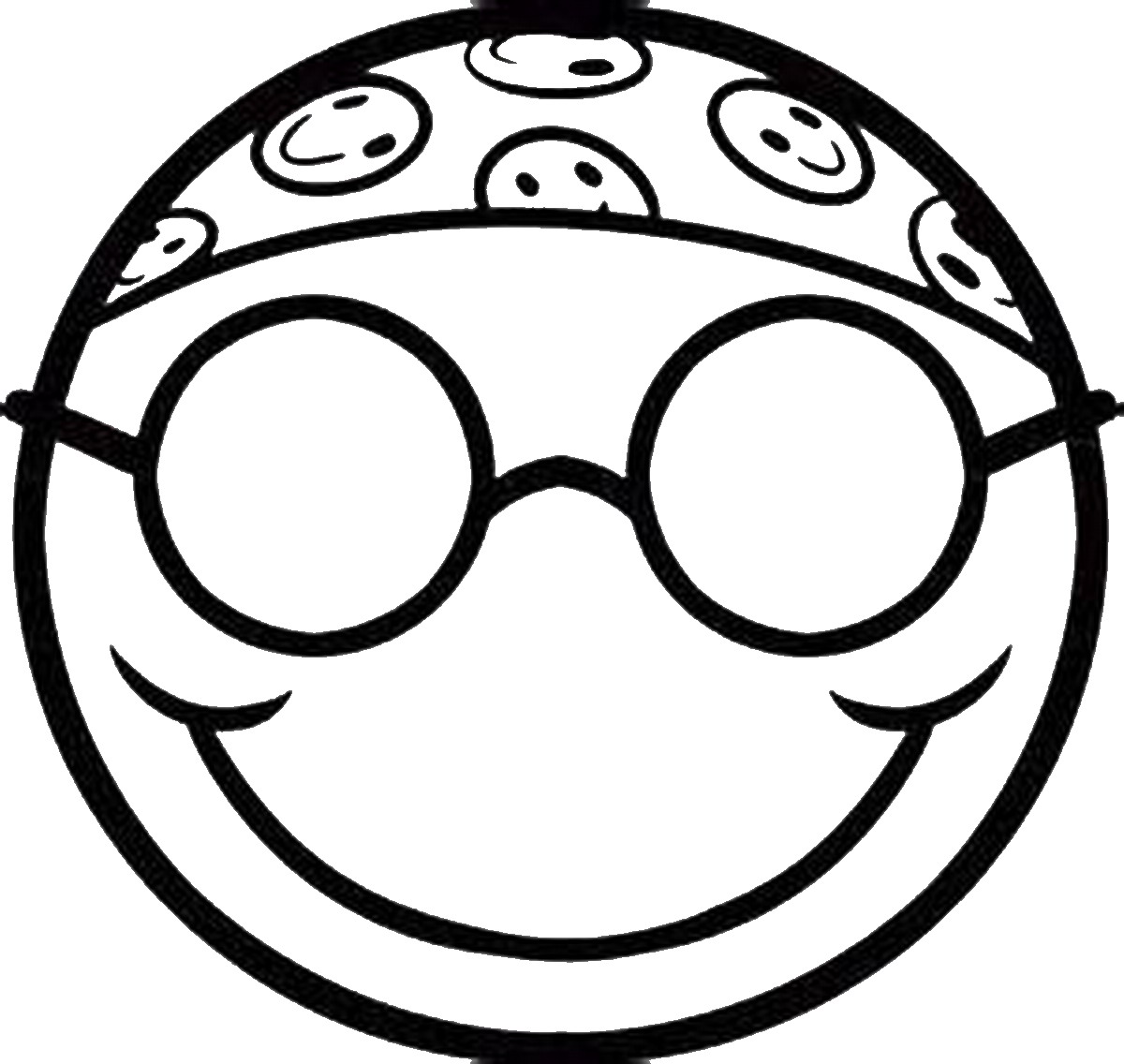 1200x1136 Emoji Coloring Pages