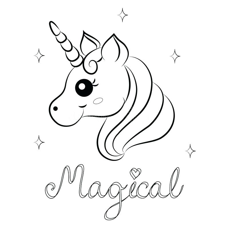 Unicorn Head Coloring Pages at GetDrawings.com | Free for personal ...