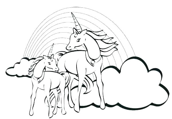Unicorn Pegasus Coloring Pages At Getdrawings Com Free For