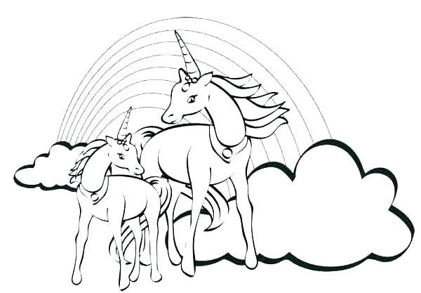 Unicorn Pegasus Coloring Pages At Getdrawings Free Download