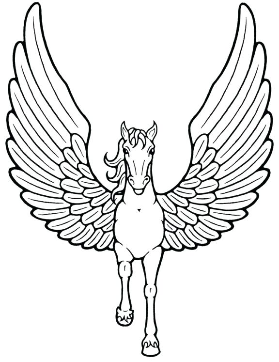 576x747 Pictures Of Unicorns To Color Unicorns Coloring Pages Unicorn
