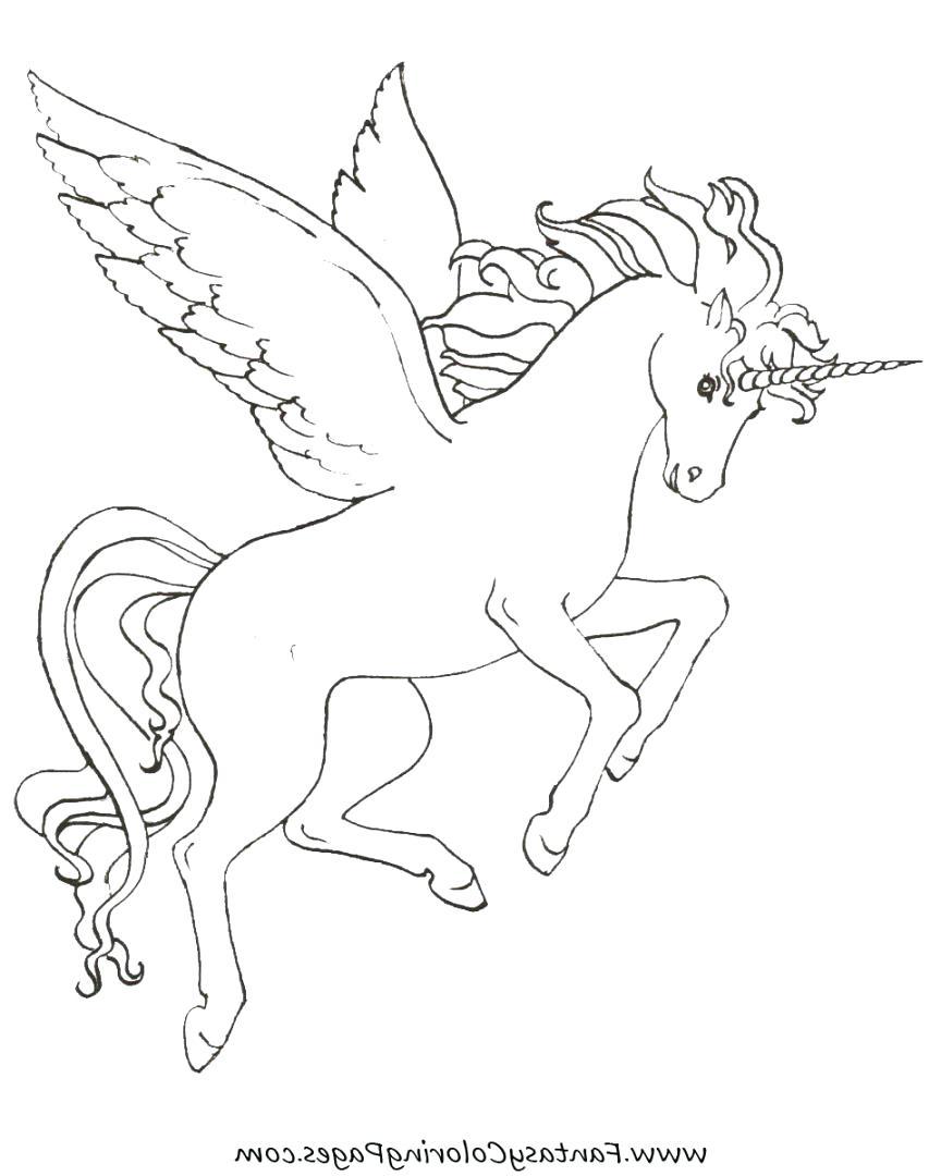 864x1080 Unicorn Pegasus Coloring Pages