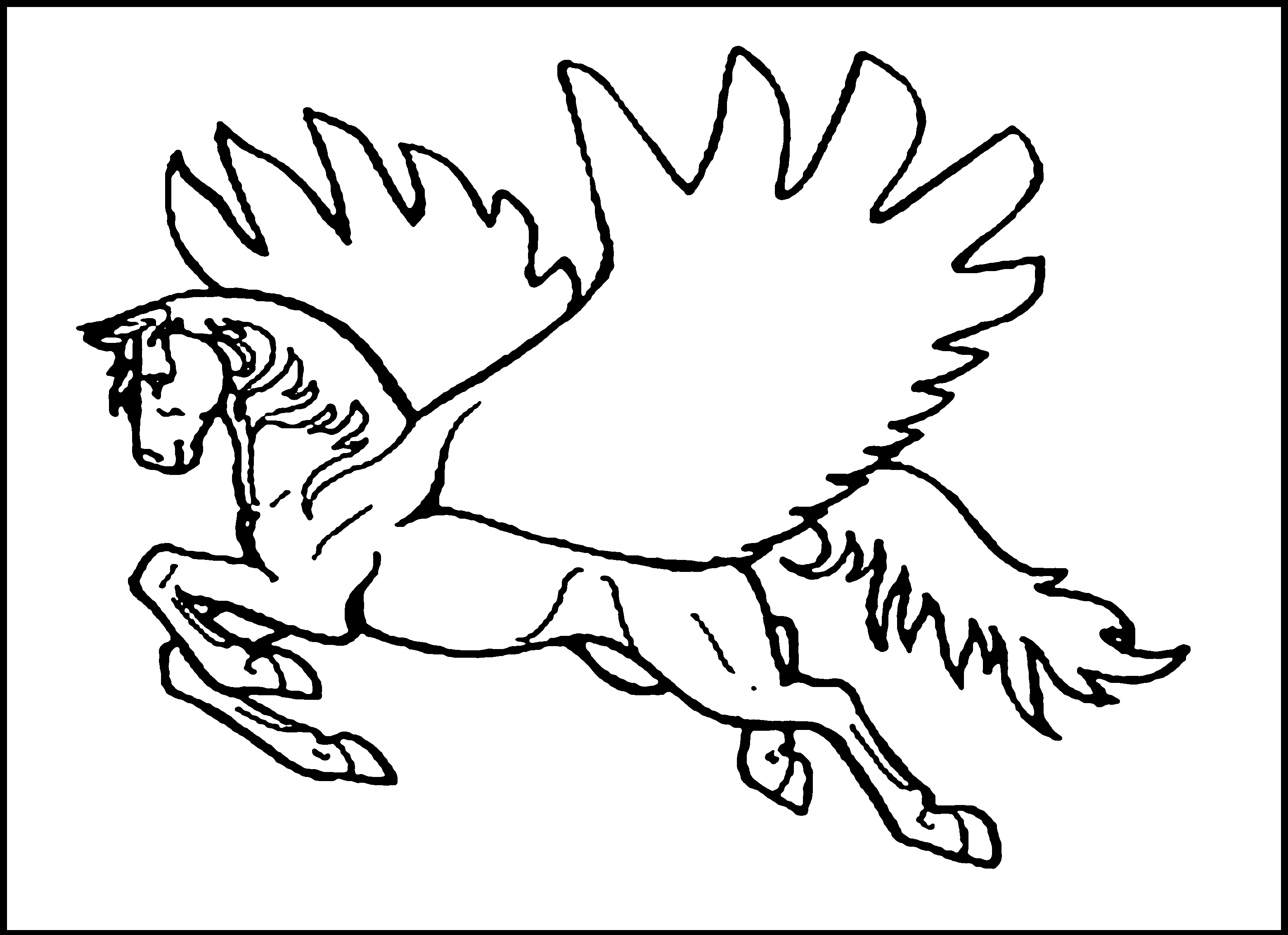 3120x2266 Great Pegasus Coloring Pages To Print