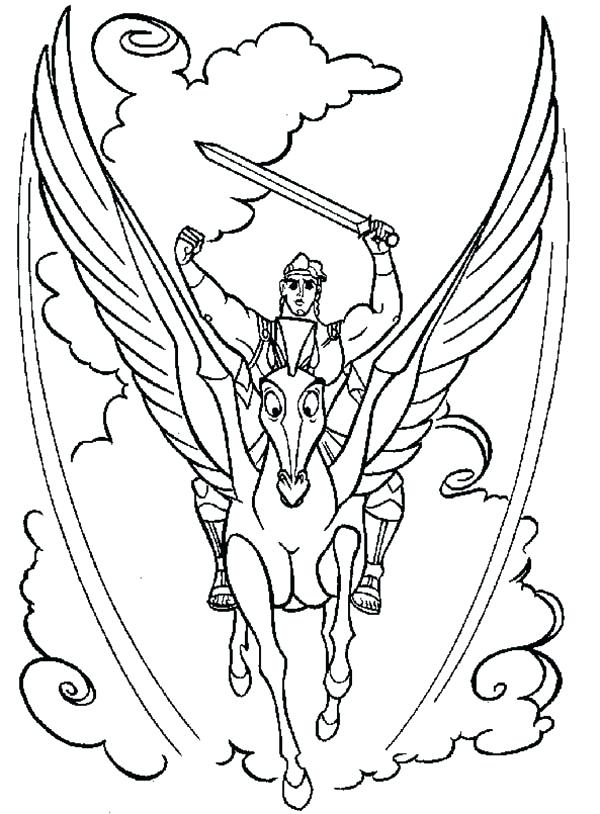 600x814 Pegasus Coloring Page Amazing Coloring Pages Unicorn With Wings