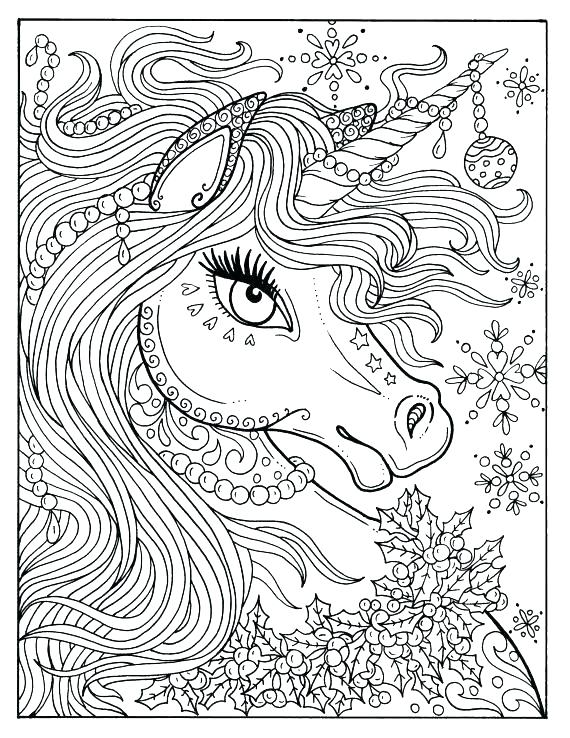 570x738 Unicorn Rainbow Coloring Pages Unicorn Coloring Page Unicorn