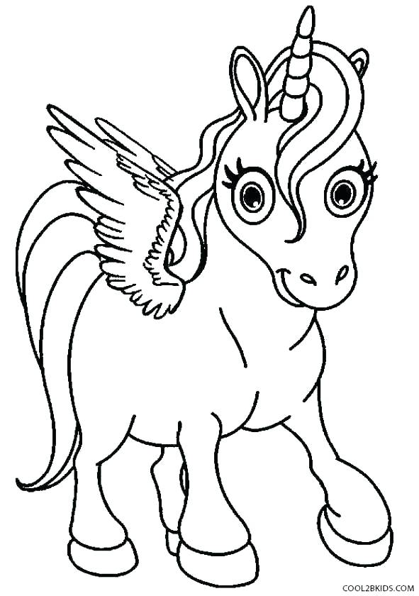591x840 Pegasus Coloring Page Unicorn With Wings Coloring Pages Coloring