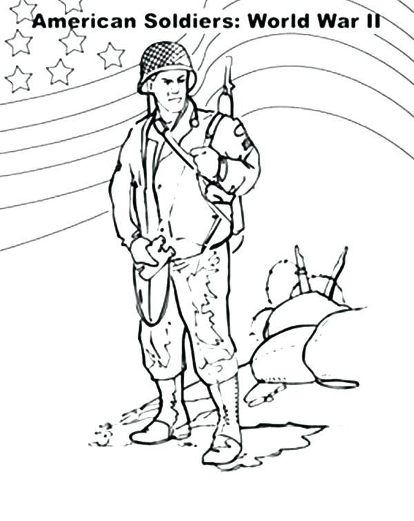 600x755 Soldier Coloring Page In Her Soldier Uniform Coloring Page Soldier