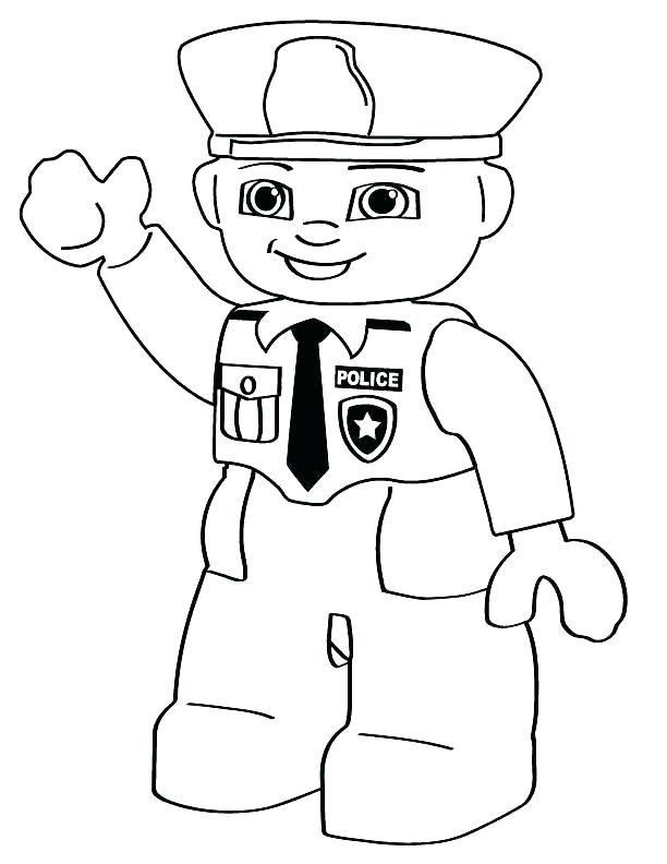 612x792 Uniform Coloring Pages Police Officer Coloring Pages Police