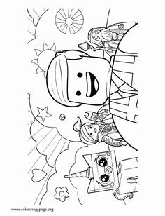 236x308 Emma From Lego Friends Colouring Pages Party Time Lego Movie