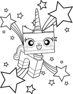 236x305 The Lego Movie Coloring Pages