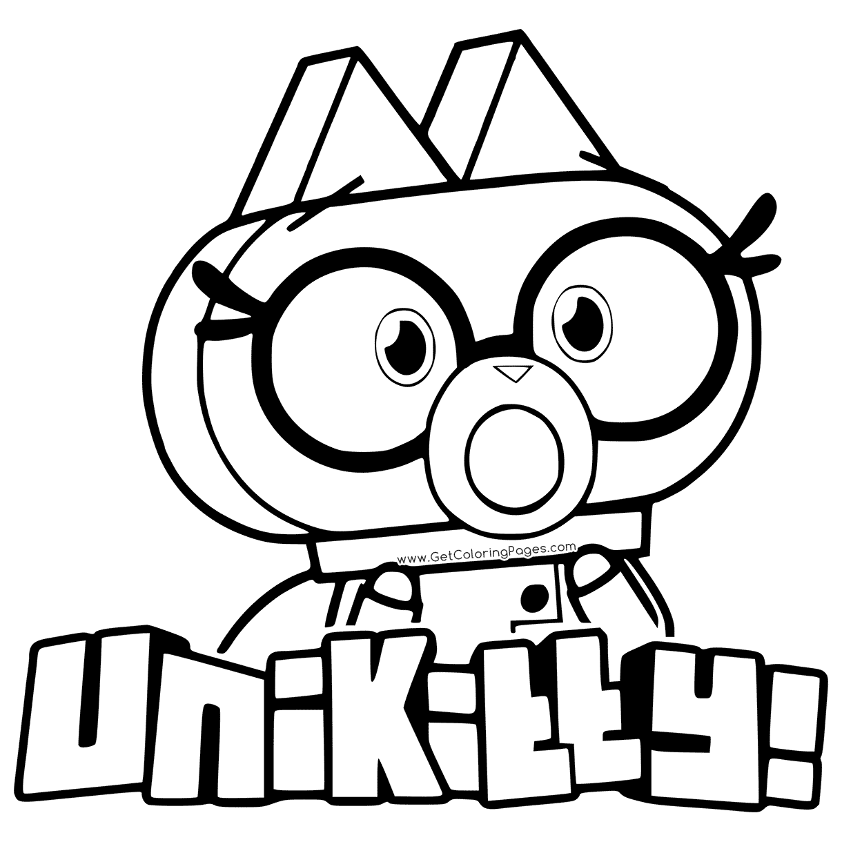 1220x1220 Dr Fox From Unikitty Coloring Page