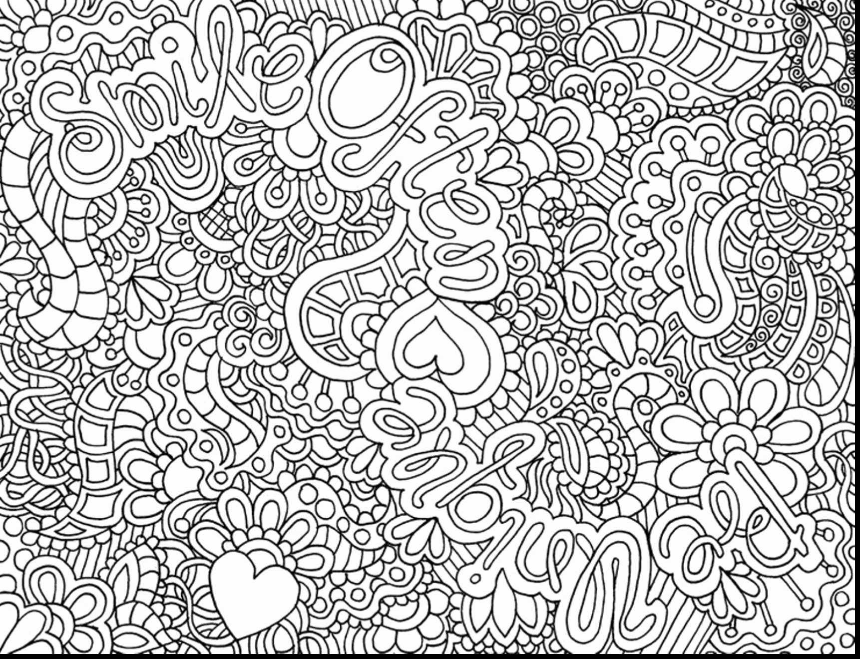 Unique Coloring Pages For Adults At Getdrawings Com Free