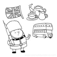 United Kingdom Coloring Pages