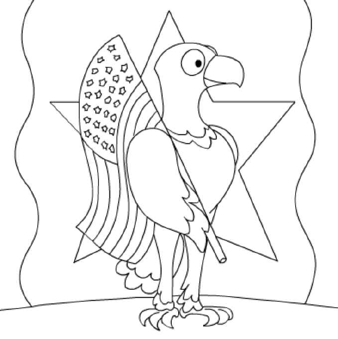 679x681 United States Coloring Pages, National Monuments