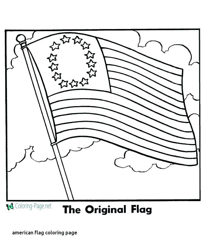 670x820 United States Flag Coloring Page Map The United States Coloring